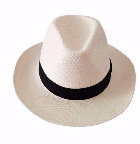 chapéu moda panamá aba larga clássico masculino feminino  2578bdeb66e