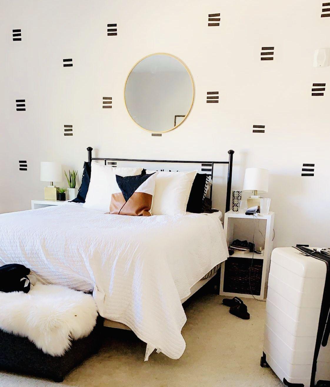 Washi Tape Diy Bedroom Wall Wall Bedroom Diy Washi Tape Wall Decor
