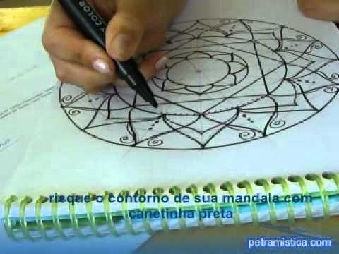 how to start a mandala