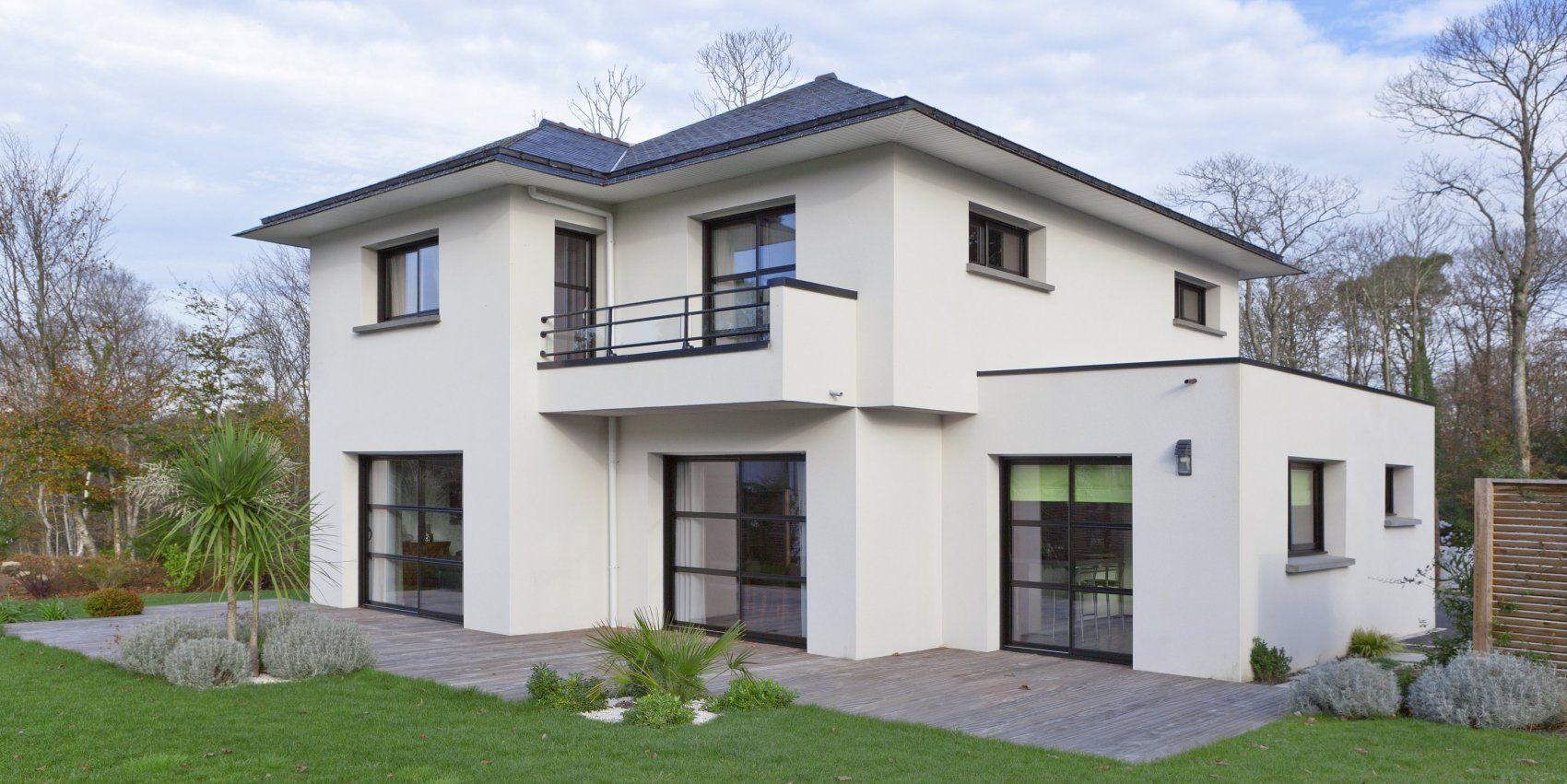 Tarifs et prix construction maison - Plan maison contemporaine - Bretagne | Prix construction ...