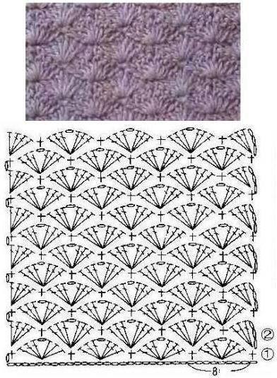 60 Puntos Fantasía En Crochet Con Muestras Tejidos De Ganchillo Puntadas De Ganchillo Patrones Punto Ganchillo