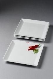 Se større billede af aida aroma square- firk. tallerkener (4 stk) 26 x 26 cm