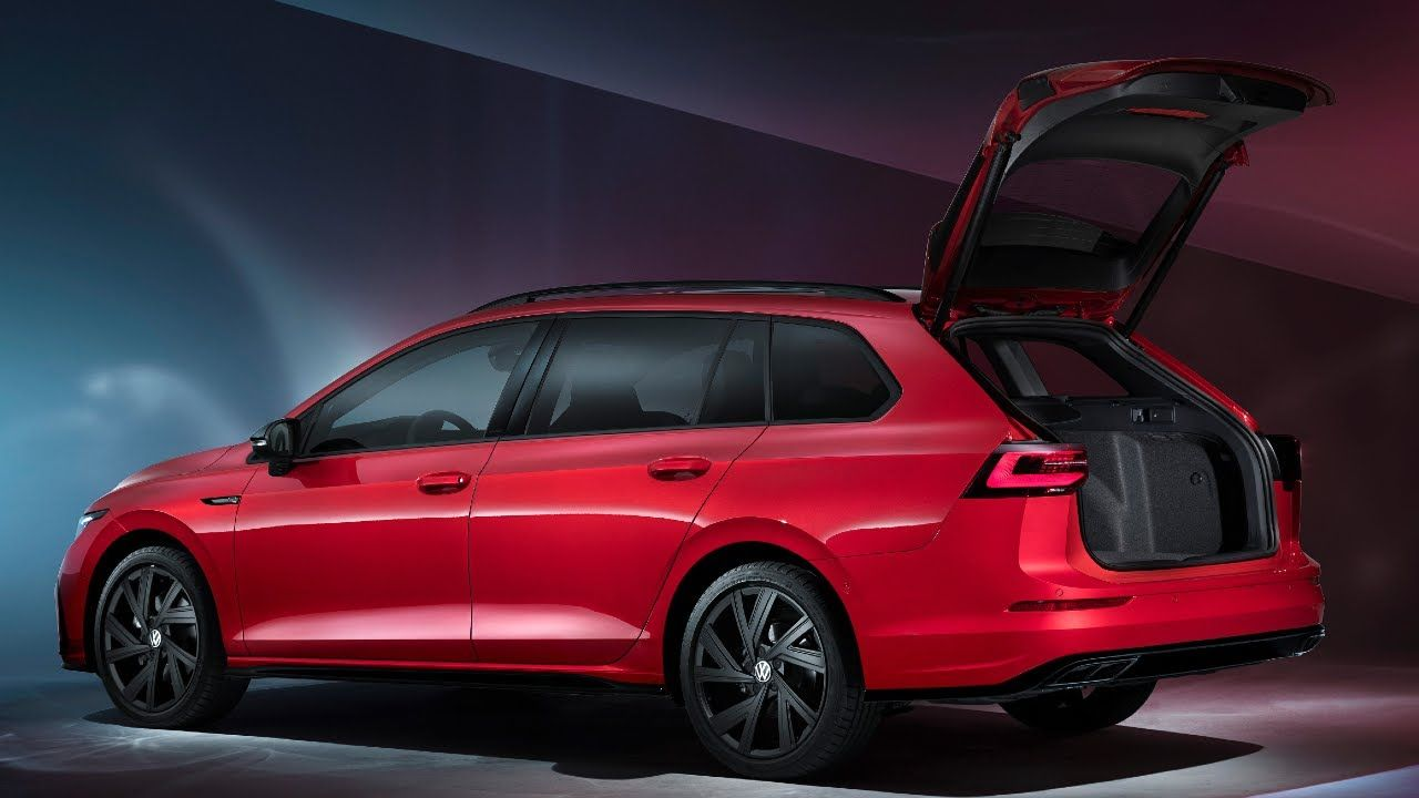 2021 Vw Golf 8 Variant R Line Interior Exterior Details Volkswagen Golf R Volkswagen Volkswagen Golf