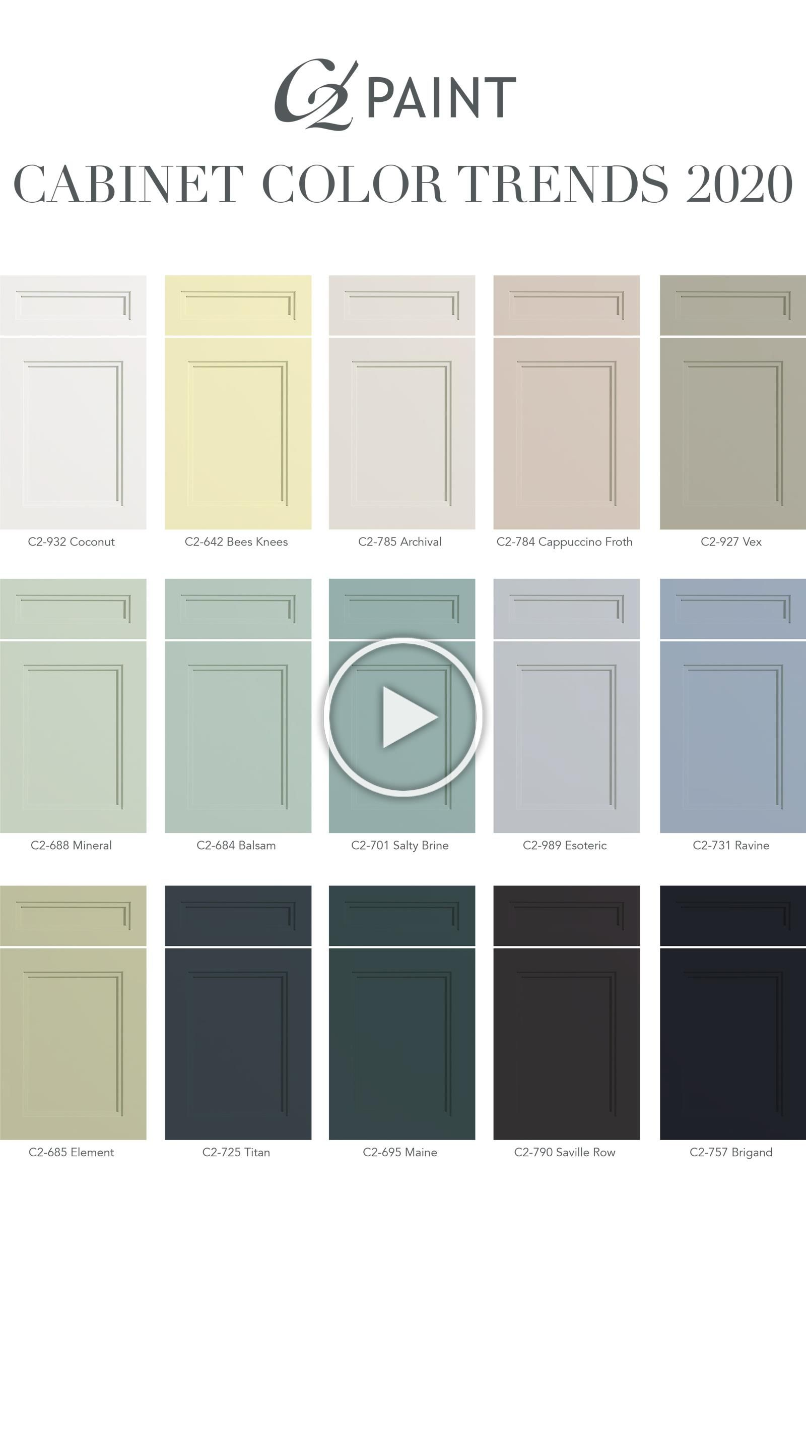Looking for a room refresh Check out our cabinet color trends for ...