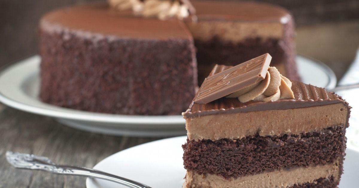 gâteau au chocolat avec fondant très chocolat | recette | recette