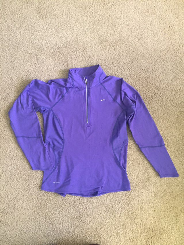 vast selection buy popular affordable price Nike DRI-FIT purple pull over. | Nike in 2019 | Nike dri fit ...