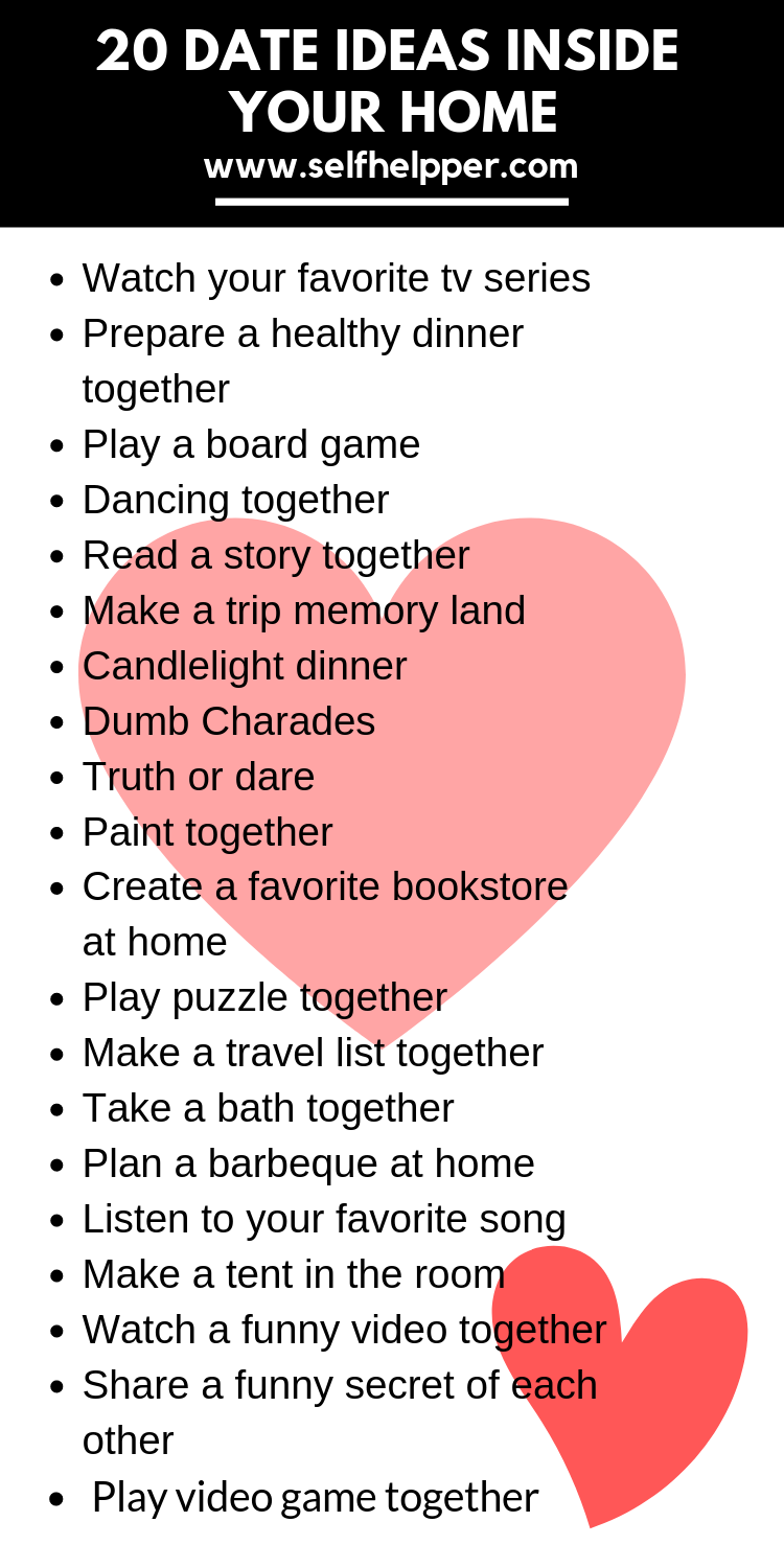 20 romantic Date Night Ideas at home , Cheap date night ideas at home, date nigh…