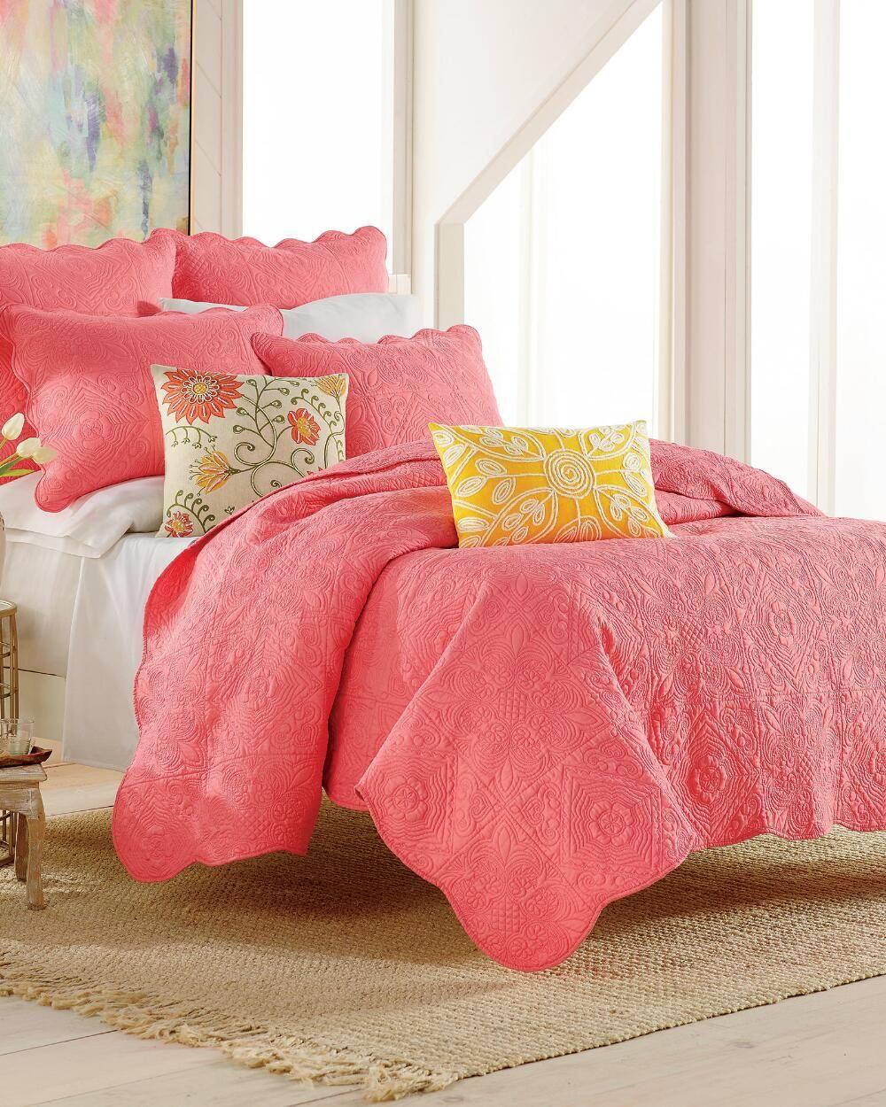 Vanderbilt Finely Stitched Quilt-Solid-Quilts-Bedding-Bed & Bath | Stein Mart