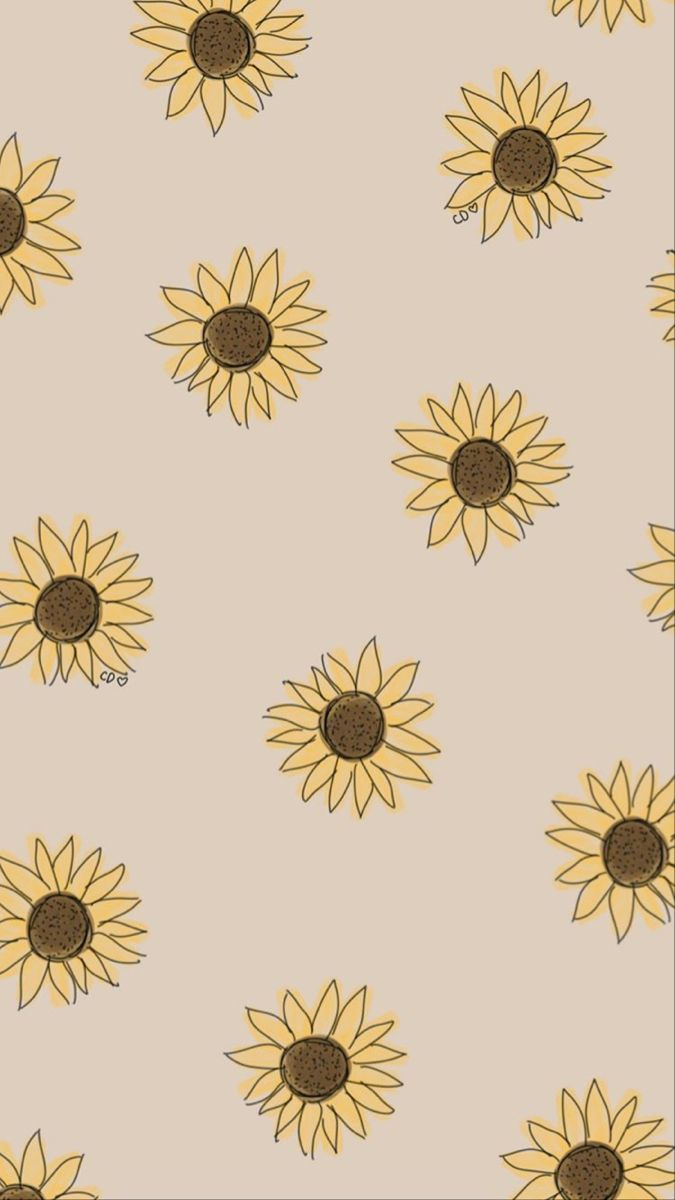 Pin By Paulinarougier On Backgrounds Sunflower Iphone Wallpaper Iphone Wallpaper Fall Sunflower Wallpaper