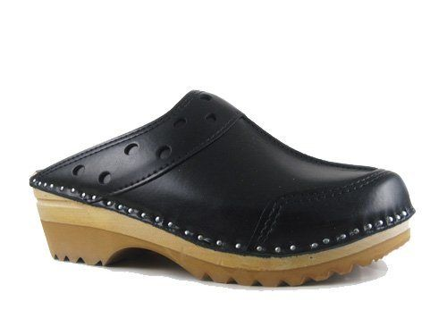 Troentorp Womens Båstad Durer Leather Clogs - Shoe Shop USA - Shoe Shop USA: Price: 	$131.00