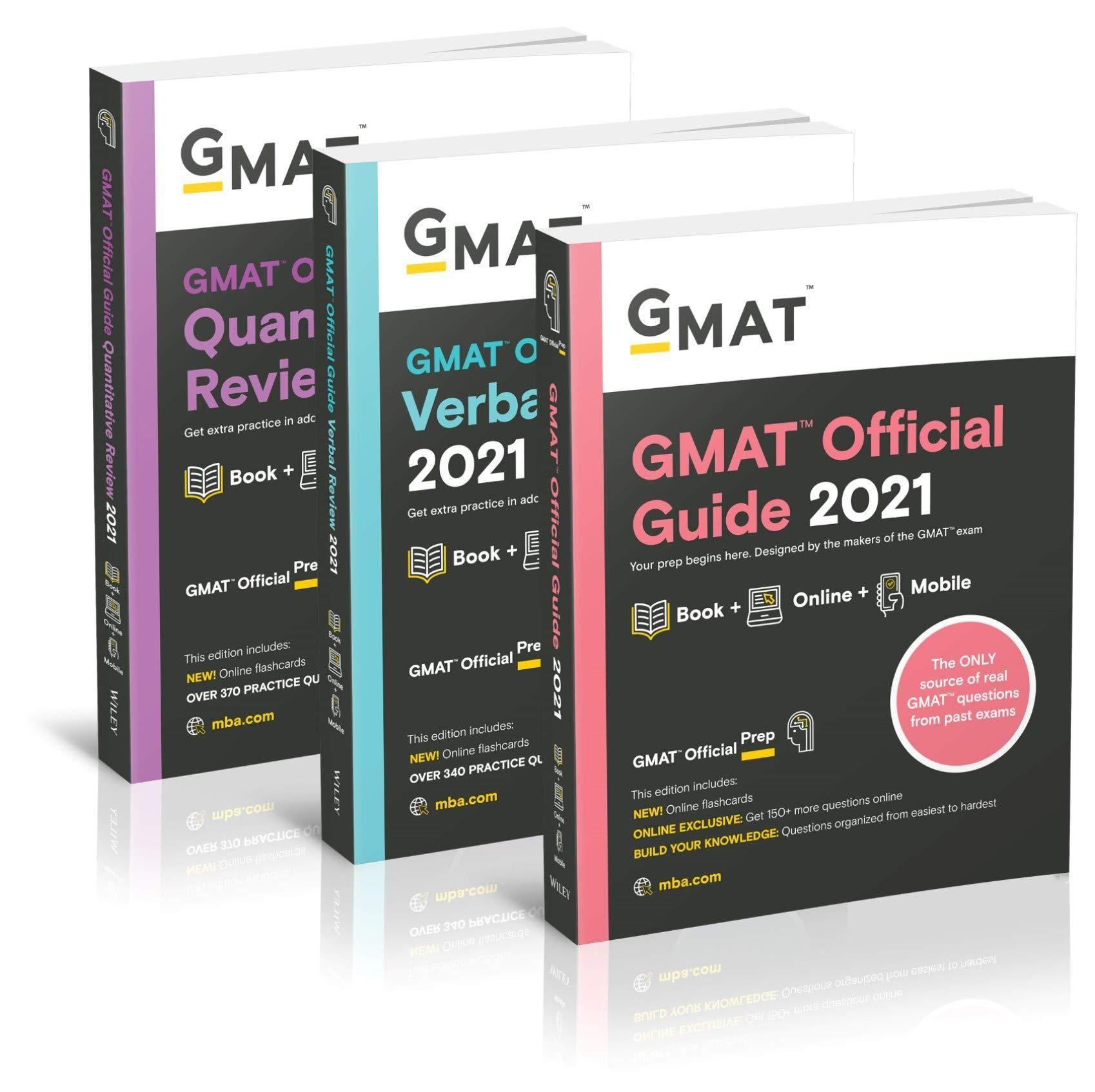 Ebook Download GMAT Official Guide 2021 Bundle Books