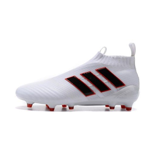 outlet store ea0d4 4af44 Barato 2017 Adidas ACE 17 PureControl Rojo Blanco Negro Zapatos De Soccer