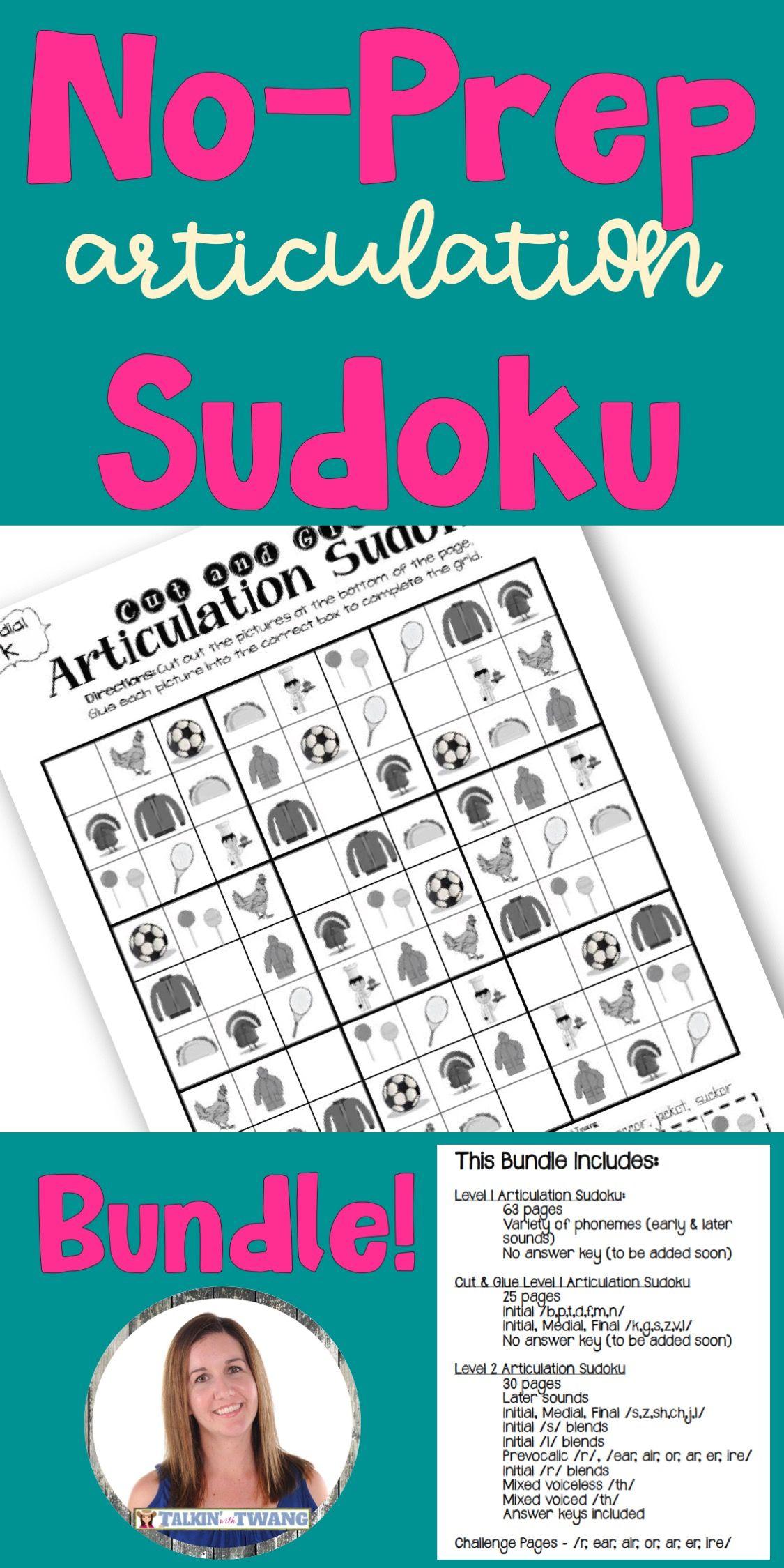 Articulation Sudoku Mega Bundle