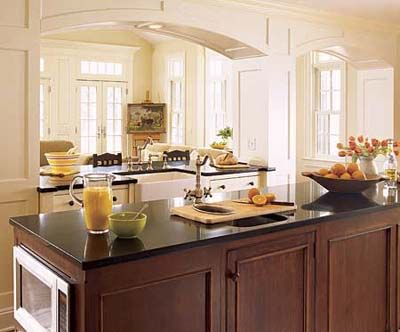 10 Foot Island With Multiple Built In Appliances Kitchen Remodel Kitchen Island Design Kitchen