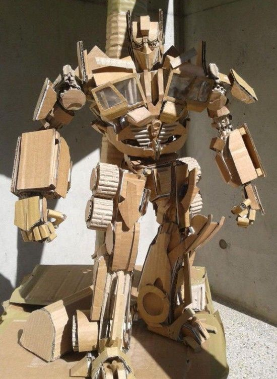 Très cardboard-art7 | Papercraft, Cardboard Art and more. | Pinterest  ZG95