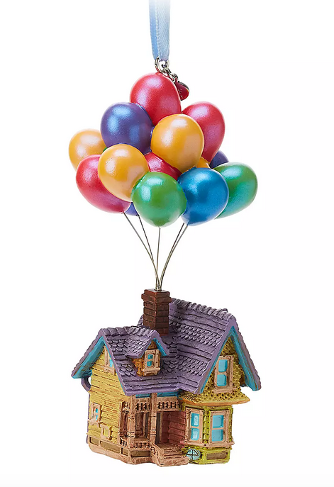 Sometimes The Answer Is To Just Fly Away Carl Fredrickson S House And Balloons Ornament Disney Pixar Sketchbook Ornaments Disney Up House Disney Ornaments