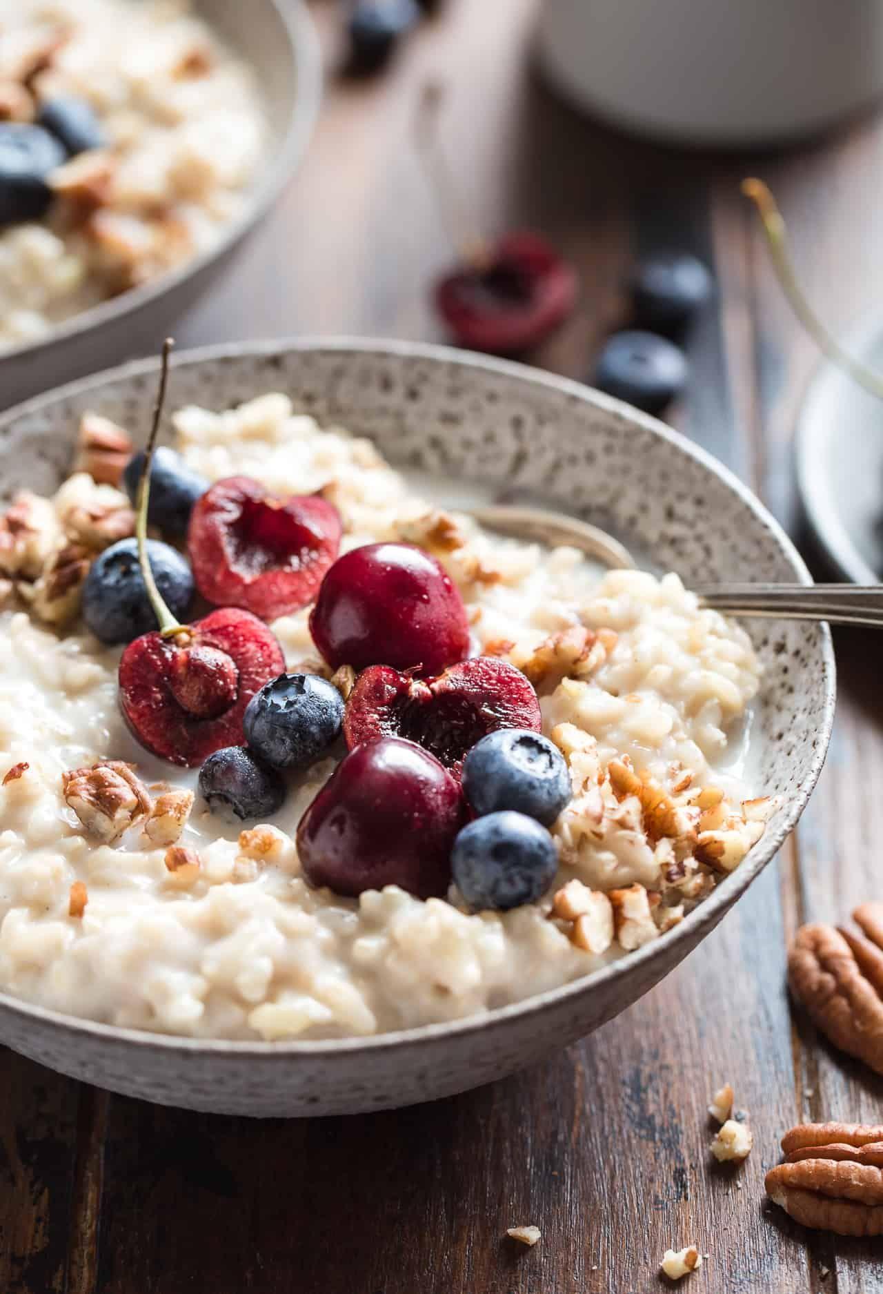 Brown Rice Breakfast Pudding | Recipe | Rice breakfast ...