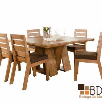 Comedores modernos de madera buscar con google for Comedores de madera