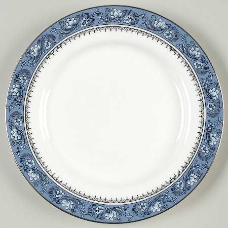 Aynsley, John Blue Mist Bread & Butter Plate