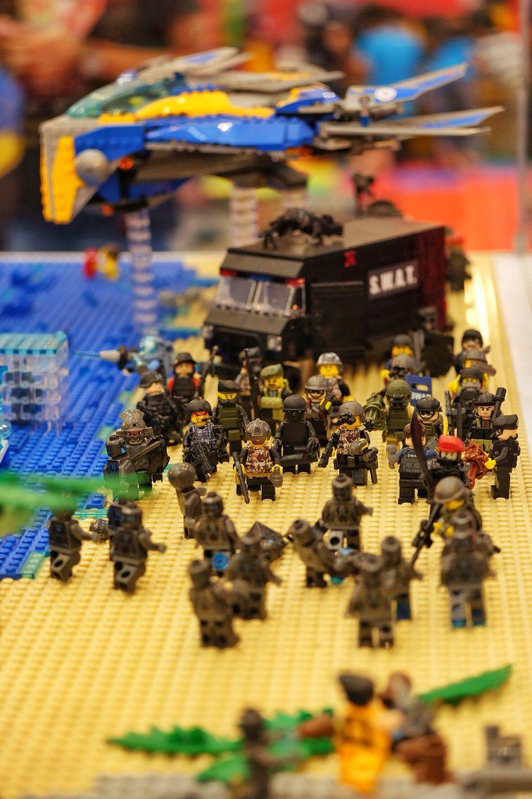 Lego Swat Team View Lego Army Lego Lego Military