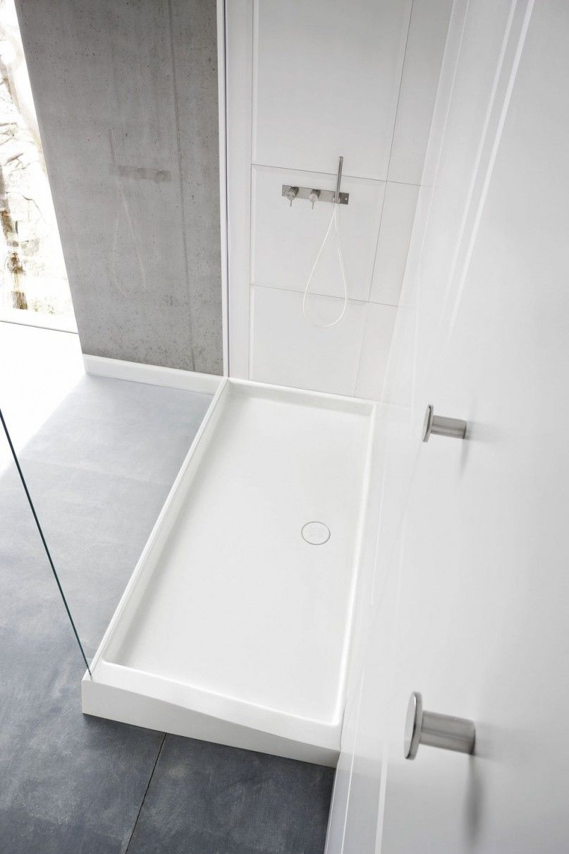 Shower Base And Walls By Corian Shower Stall Enclosures Corian Shower Walls Bathroom Shower Bases