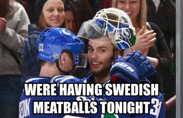 Swedish Meatballs Hockey Memes Sport Hockey Fun Sports