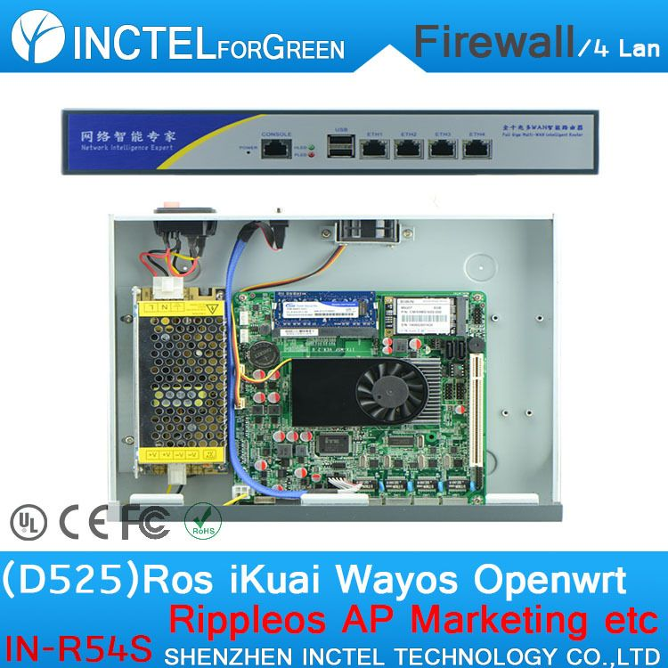 Four Wired Router enterprise Class Hardware Firewall BYPASS Function ...