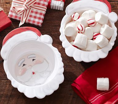 Rudolph The Red Nosed Reindeer Santa Bowl With His Rosy