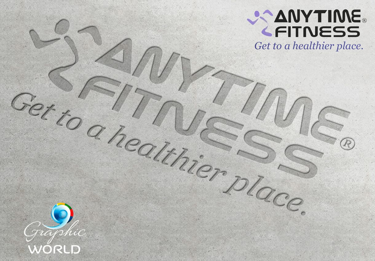 Anytime Fitness Logo Http Graphicworld Co Online Printing Services Anytime Fitness Online Design