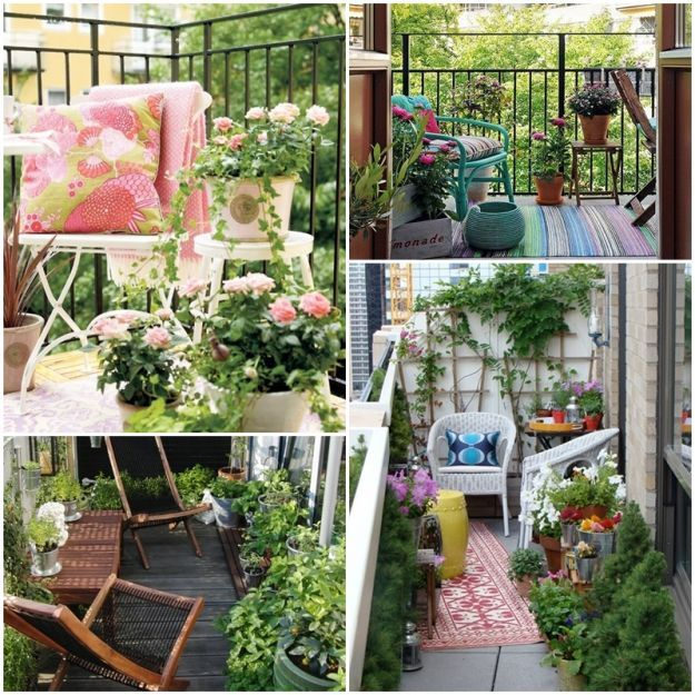 balkon taras loggia niezwyk e aran acje z miejscem do relaksu garden pinterest gardens. Black Bedroom Furniture Sets. Home Design Ideas