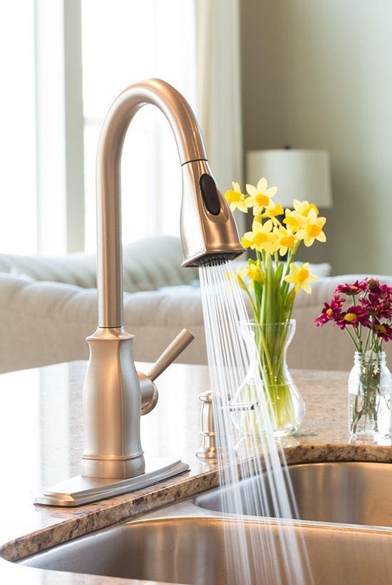 in Chrome Full Size | moen faucets | Pinterest
