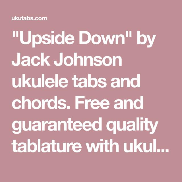 Upside Down\