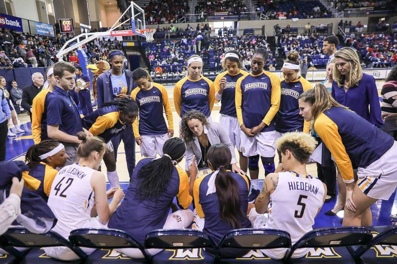 Marquette Women S Basketball Drops Out Of The Associated Press Top 25 Marquette Golden Eagles Womens Basketball Basketball