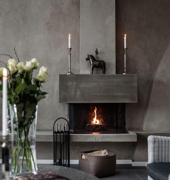 A classically gray loft