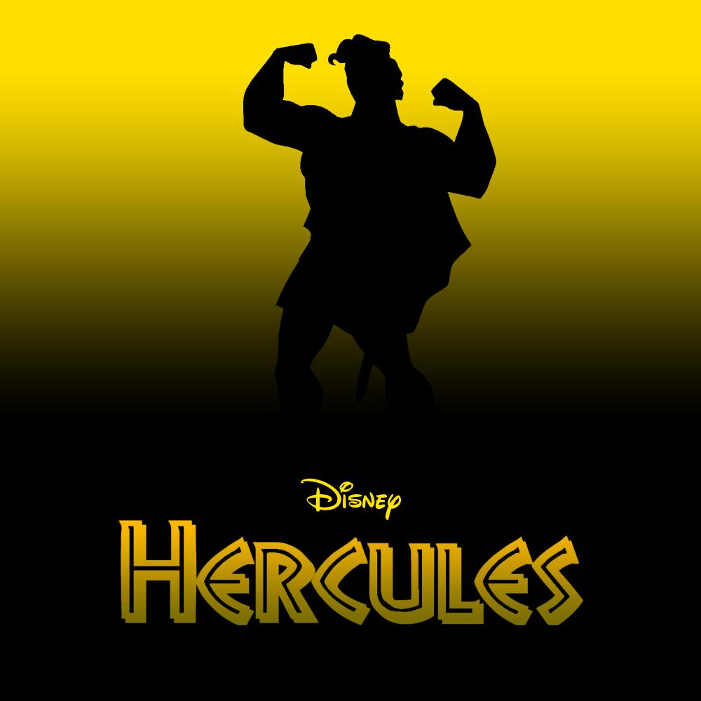 Hercules [Ron Clements & John Musker, 1997] «20 Minimalist Disney Covers Author: Draik Jack»
