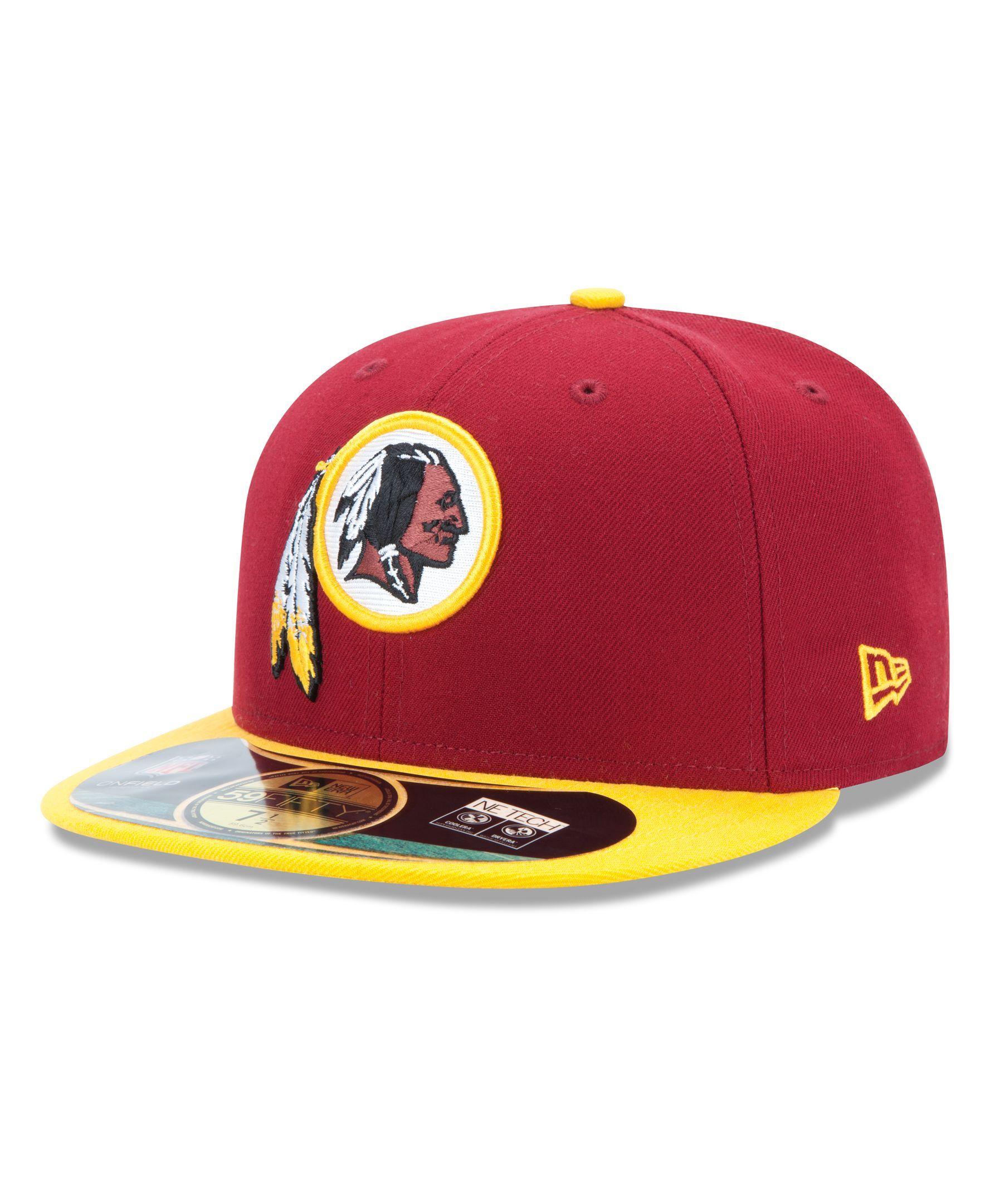 236e496d0 New Era Nfl Hat, Washington Redskins On-Field 59FIFTY Fitted Cap ...