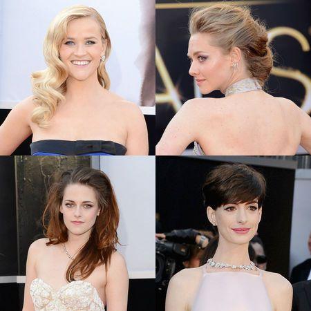 RED CARPET HAIR: Oscars 2013