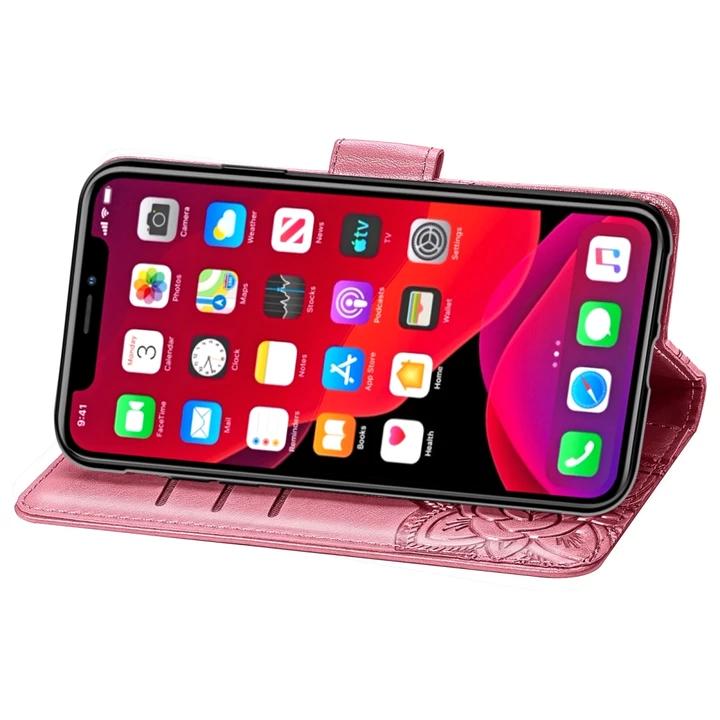 Etui de Protection Papillons PorteFeuilles pour iPhone XI