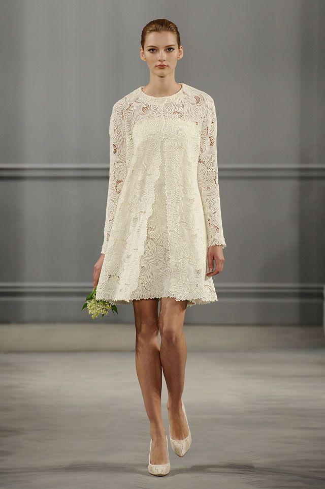 Monique Lhuillier Bride 2014 Bridal Spring/Summer | iwedplanner ...