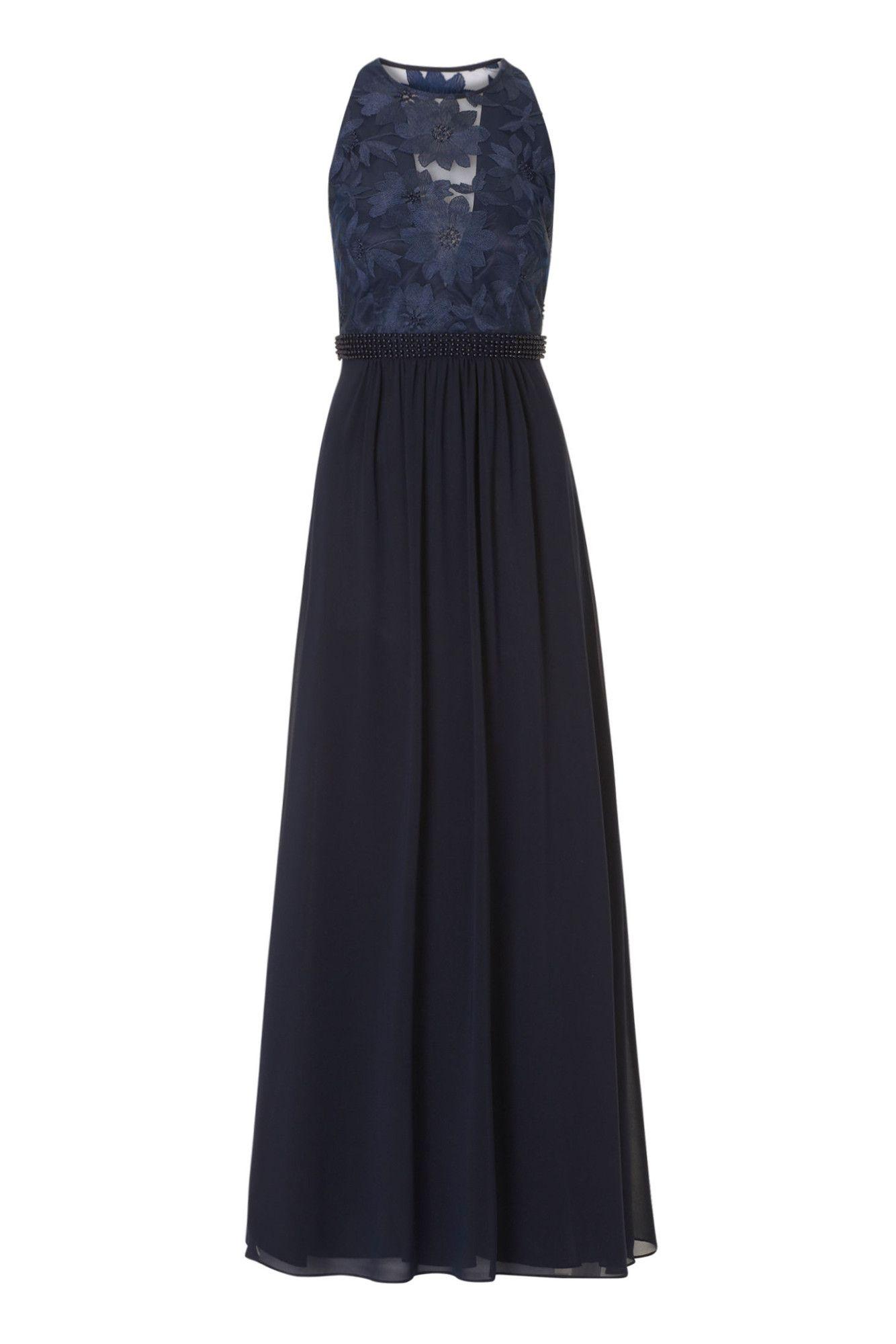 Langes Chiffonkleid Traumhaftes Abendkleid von Vera Mont Luftig