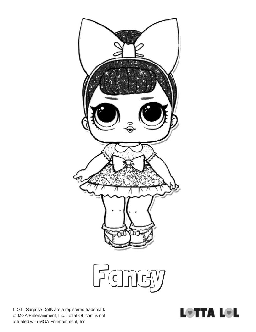 Fancy Glitter Coloring Page Lotta Lol Unicorn Coloring Pages Coloring Pages Lol Dolls