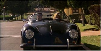 Kelly McGillis drives a Speedster in the blockbuster Top Gun