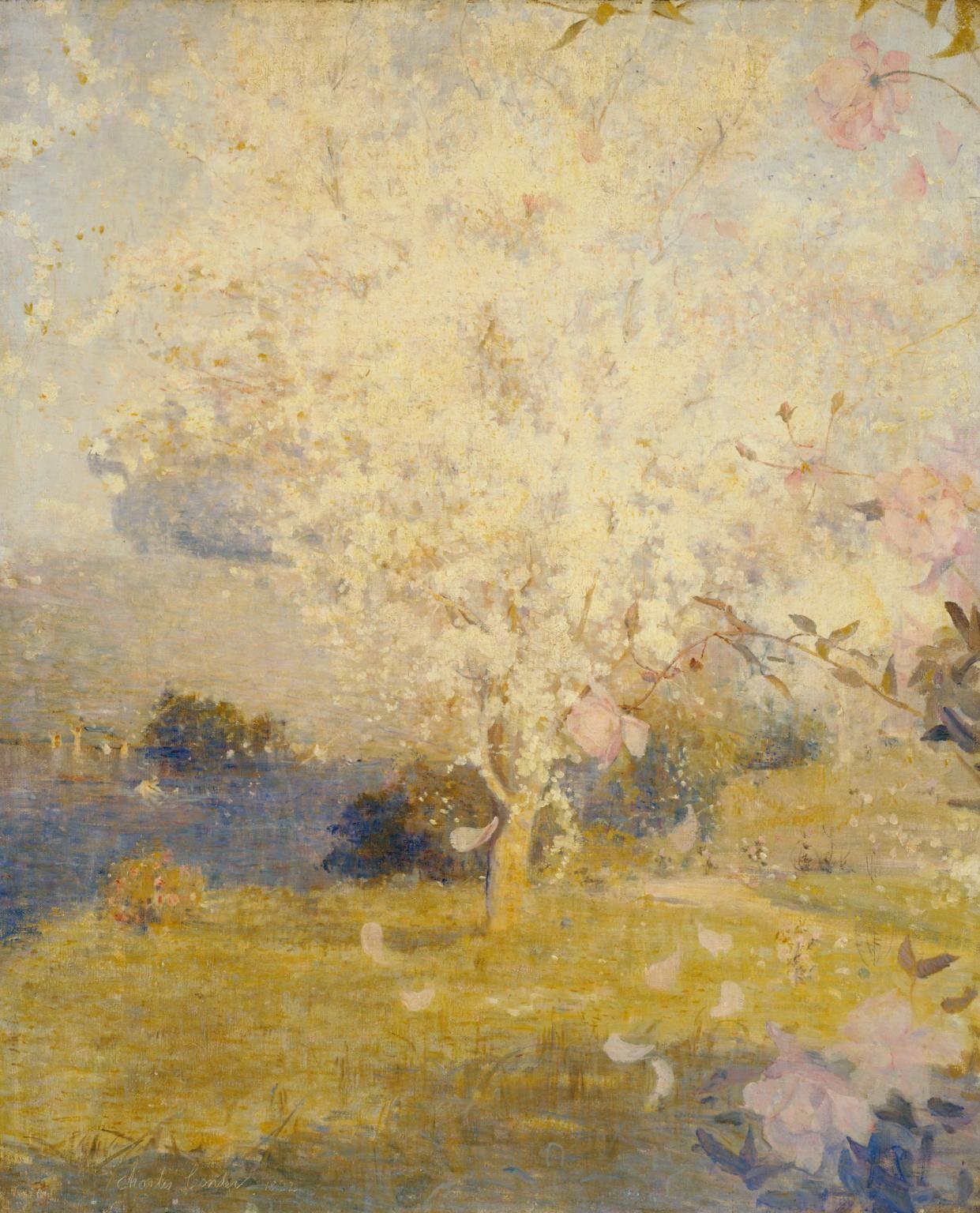 Springtime Charles Conder 1892 Tate In 2020 Australian