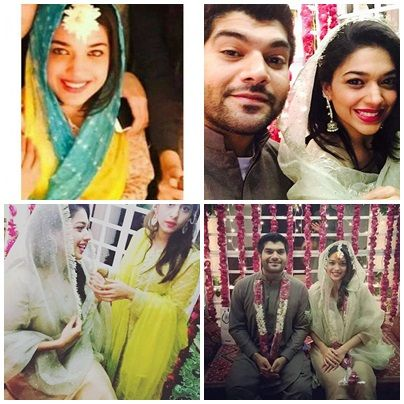 Jago Pakistan Popular HUM Tv Morning Show Host The Gorgeous Sanum Jung Wedding Celebrations Are On Way Checkout Mehndi Function Unseen