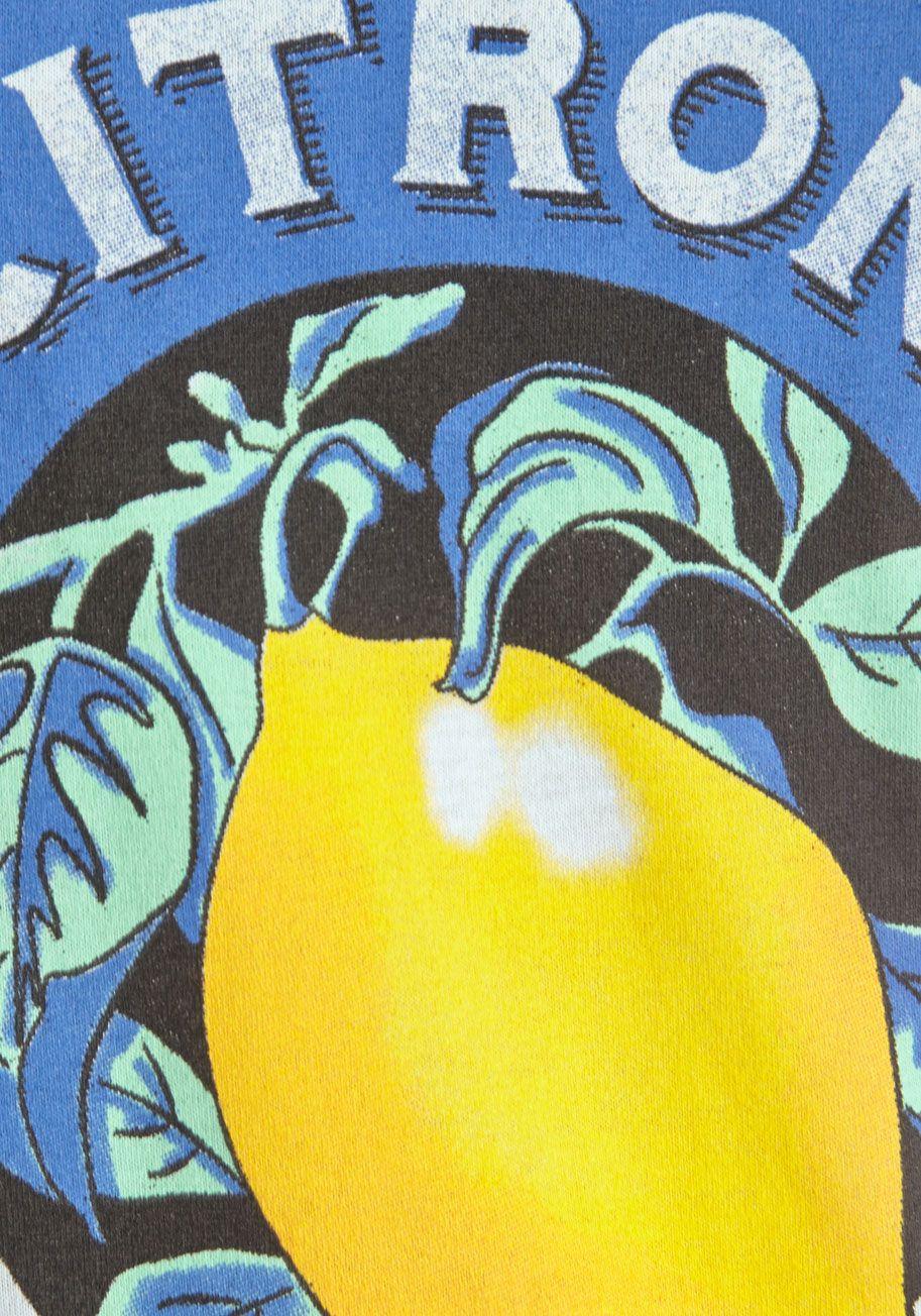 Fruit the Breeze Tee in Citron | Mod Retro Vintage Sweaters | ModCloth.com