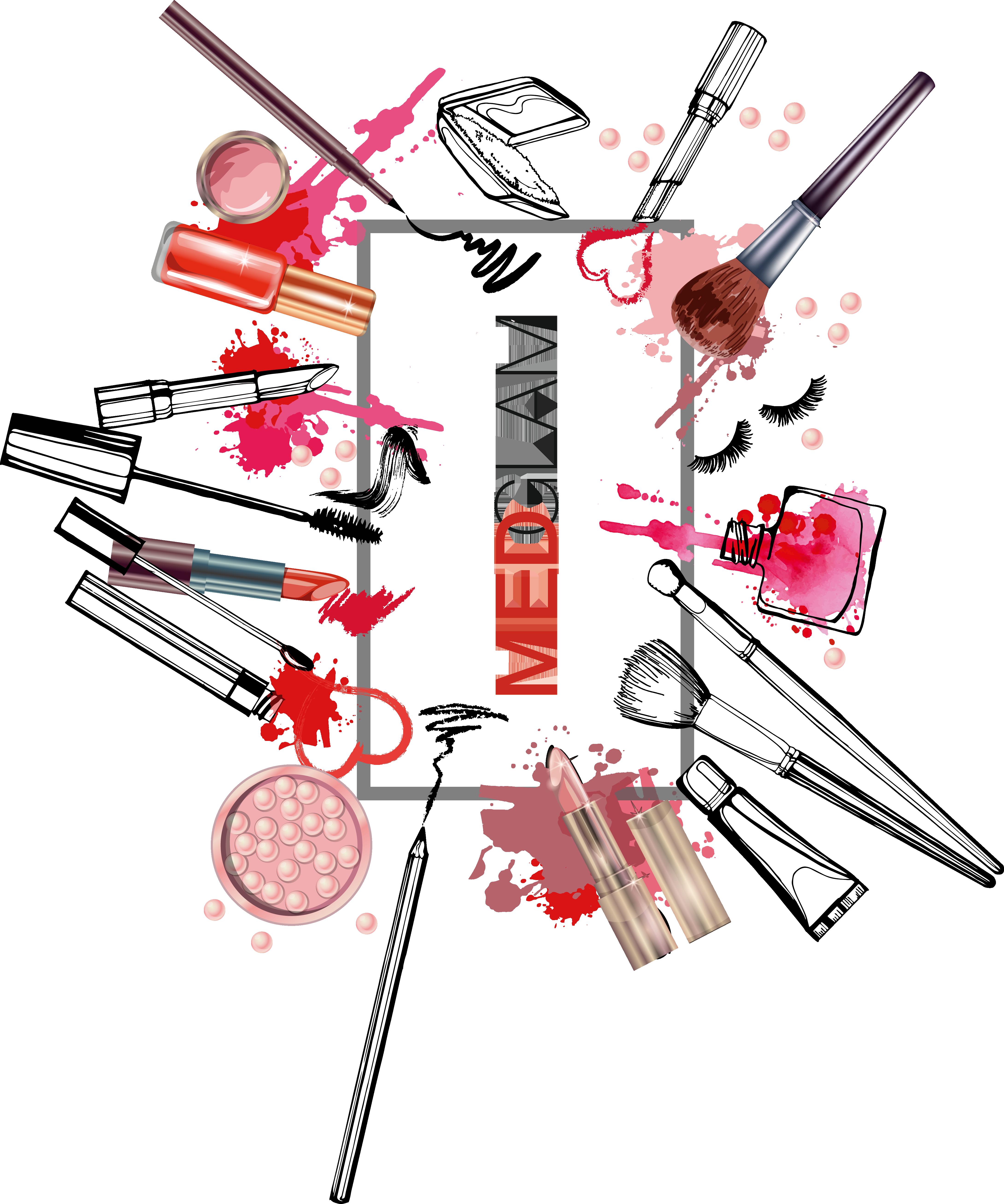 Pin By Medglam On Medglam In 2019 Makeup Artist Logo