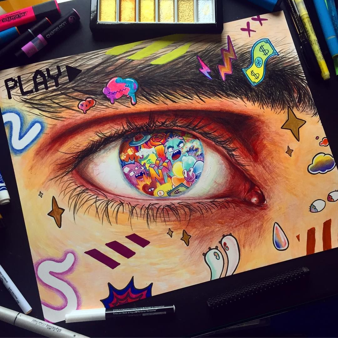 Pin By Mimi On Fun Art Instagram Artist Cute Doodle Art How To Make Drawing