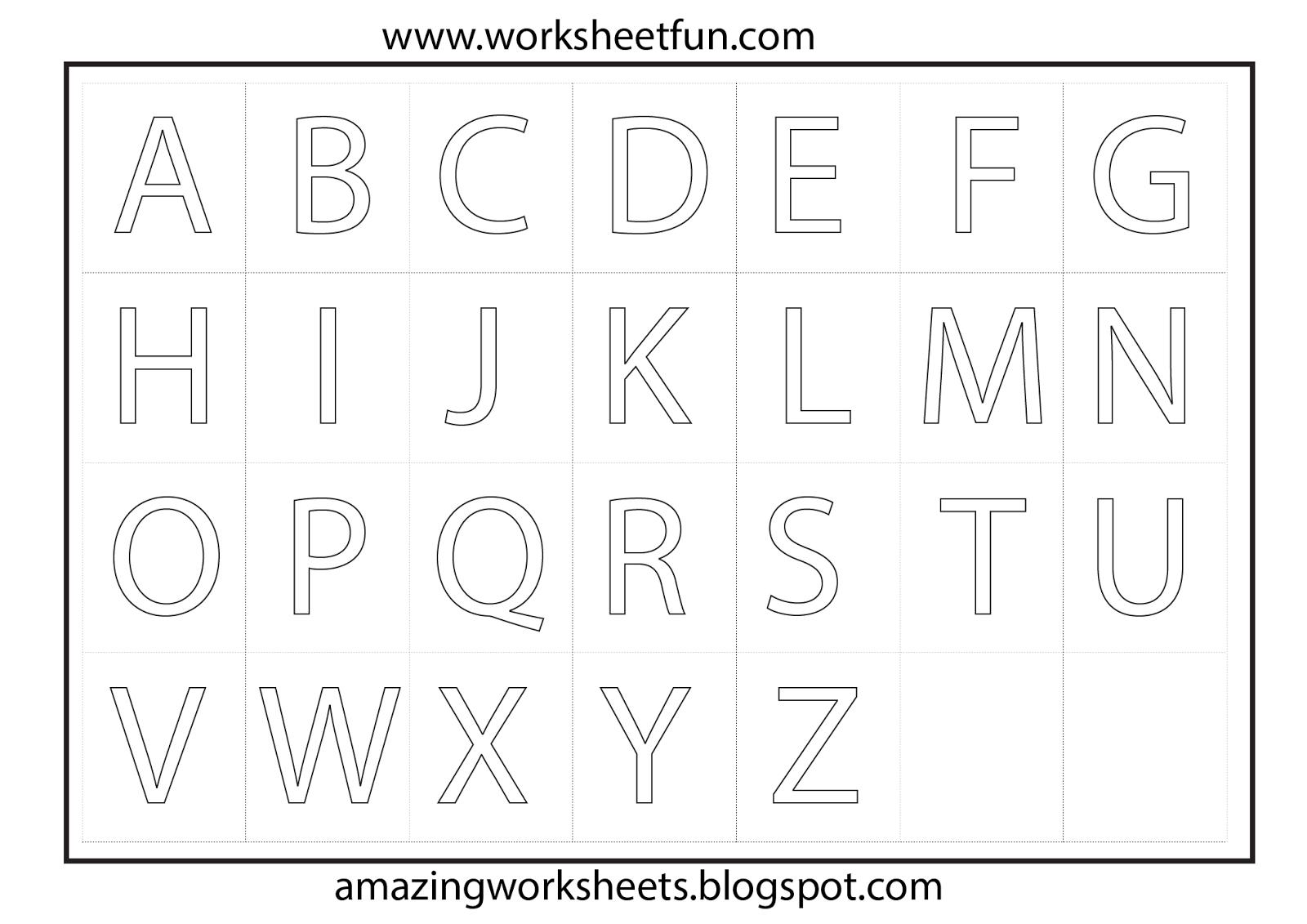 Preschool Worksheets To Print - Bing Images