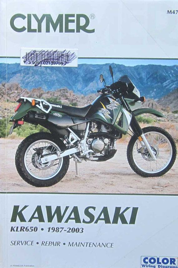 clymer kawasaki klr650 1987 2003 motorcycle service repair manual 2000 f150 dash wiring diagram clymer kawasaki klr650 1987 2003 motorcycle by thehowlinghag, $24 95