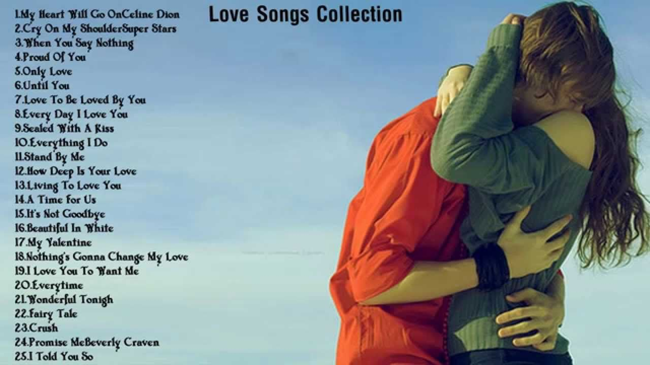 Top romantic english songs of all time